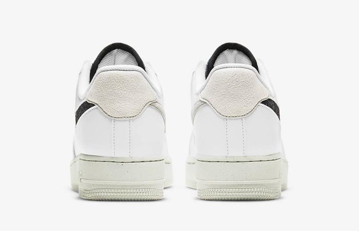 Nike Air Force 1 07 White Black Womens DA6682-100 05