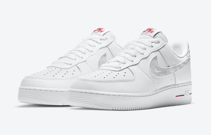 Nike Air Force 1 Low Topography Pack White Red DH3941-100 02