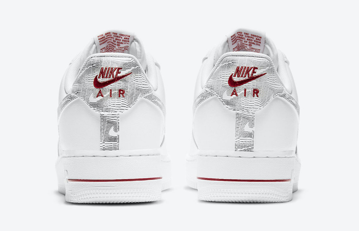Nike Air Force 1 Low Topography Pack White Red DH3941-100 04