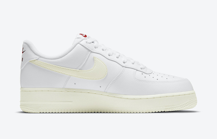 Nike Air Force 1 Low Valentines Day White Red DD7117-100 03