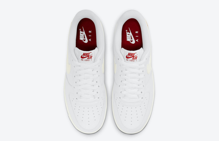 Nike Air Force 1 Low Valentines Day White Red DD7117-100 04