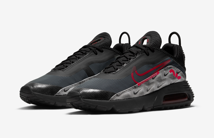 Nike Air Max 2090 Topography Black Red DH3983-001 02