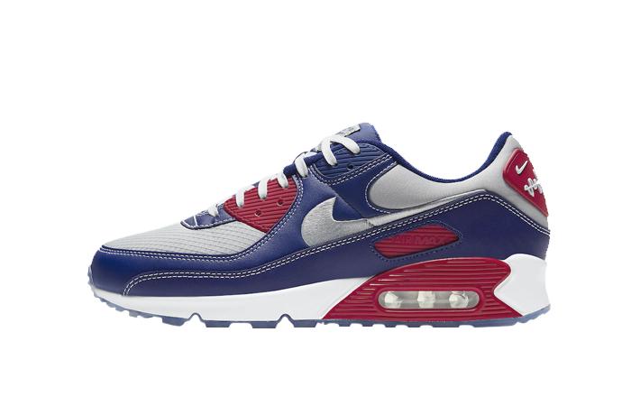 Nike Air Max 90 Pirate Radio Blue Red DD8457-400 01