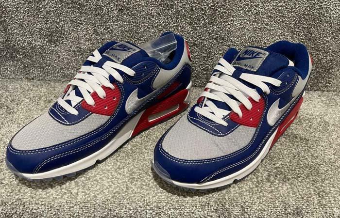 Nike Air Max 90 Pirate Radio Blue Red DD8457-400 02