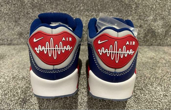 Nike Air Max 90 Pirate Radio Blue Red DD8457-400 04