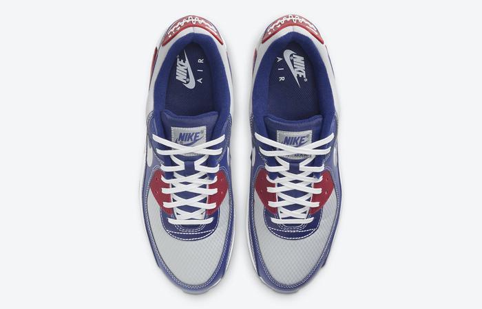 Nike Air Max 90 Pirate Radio Blue Red DD8457-400 07