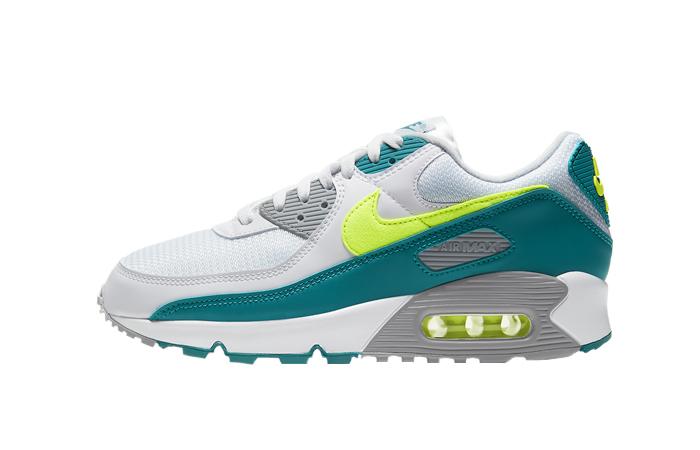 Nike Air Max 90 Spruce Lime White CZ2908-100 01