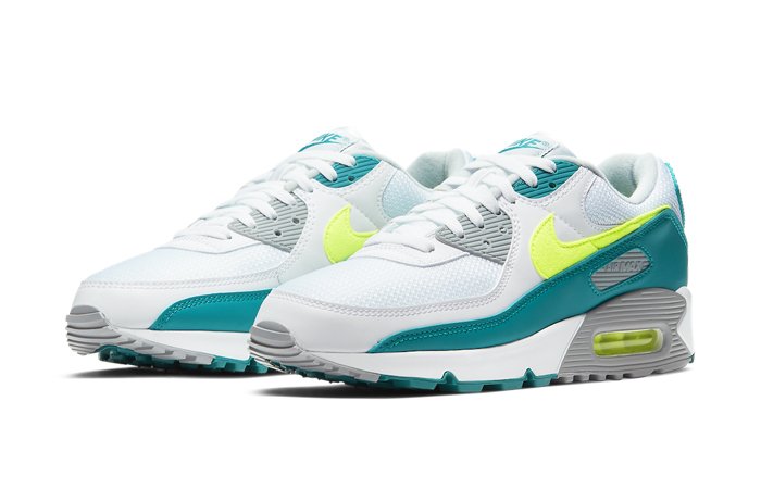 Nike Air Max 90 Spruce Lime White CZ2908-100 02