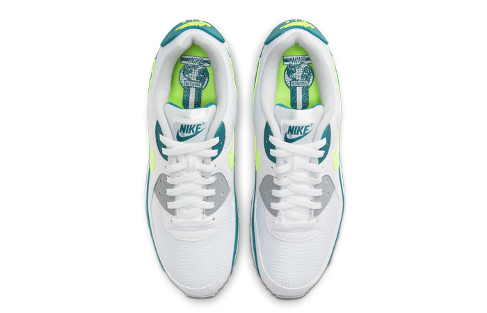 Nike Air Max 90 Spruce Lime White CZ2908-100 04