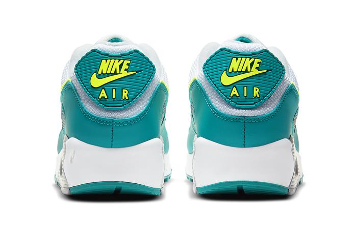Nike Air Max 90 Spruce Lime White CZ2908-100 05
