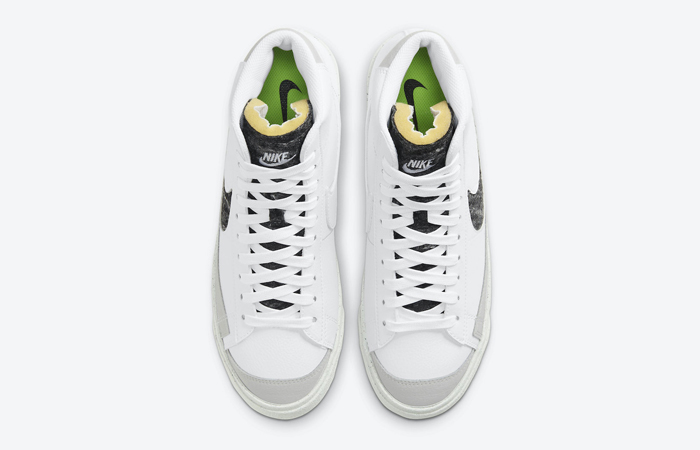 Nike Blazer Mid 77 White Light Smoke Grey CW6726-100 004