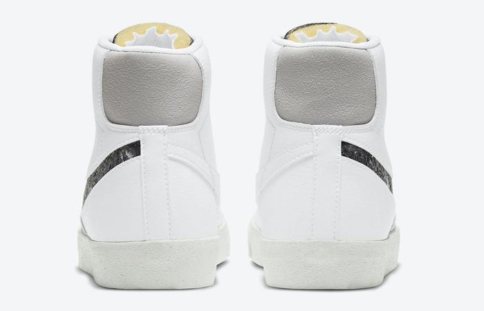 Nike Blazer Mid 77 White Light Smoke Grey CW6726-100 005