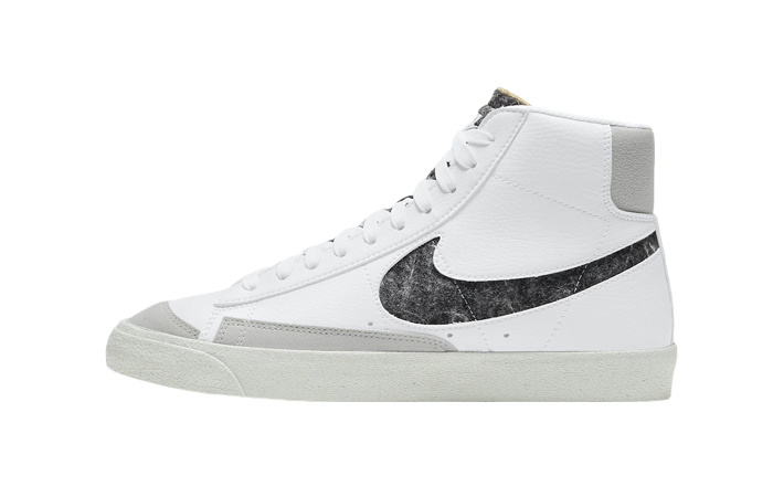 Nike Blazer Mid 77 White Light Smoke Grey CW6726-100 01