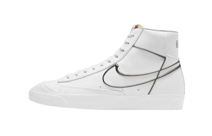 Nike Blazer Mid 77 White Metallic Pewter DH4099-100 01