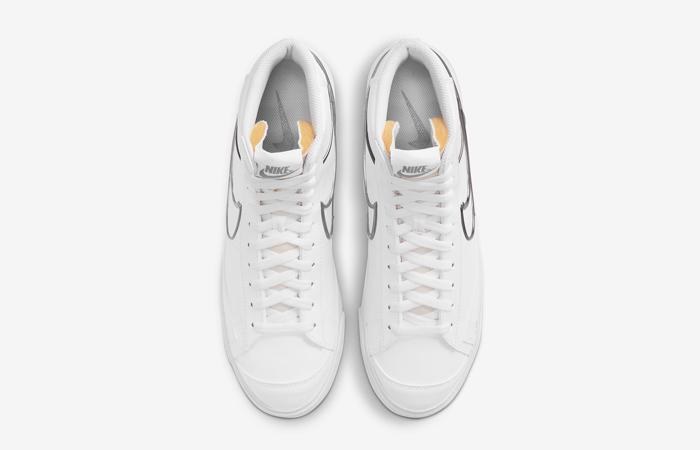 Nike Blazer Mid 77 White Metallic Pewter DH4099-100 04