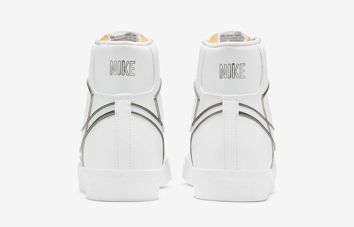 Nike Blazer Mid 77 White Metallic Pewter DH4099-100 05
