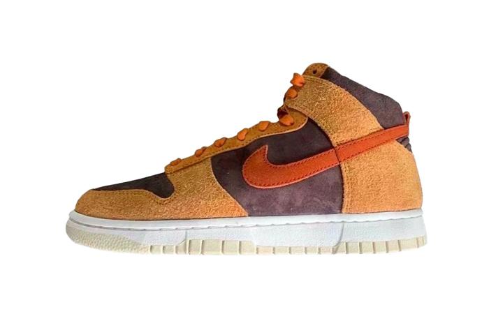Nike Dunk High Premium Dark Russet DD1401-200 01