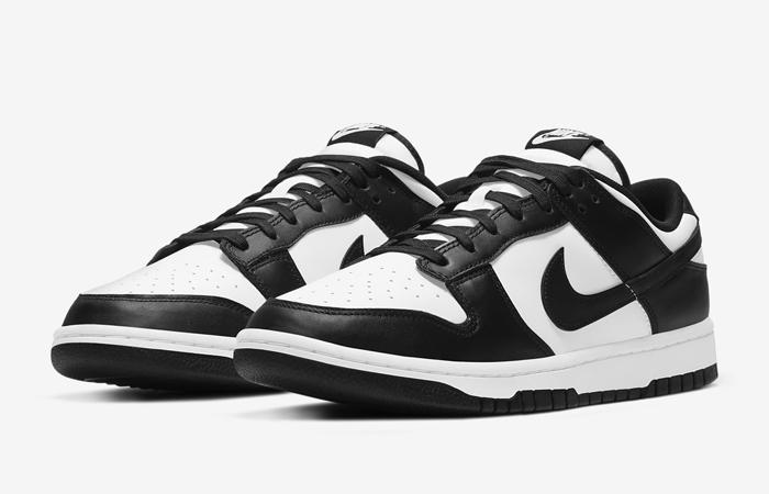 Nike Dunk Low Black White DD1391-100 02