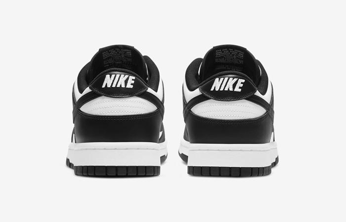 Nike Dunk Low Black White DD1391-100 05