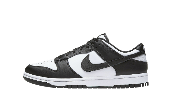 Nike Dunk Low Black White Womens DD1391-100 01
