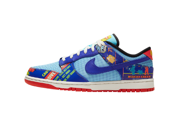 Nike Dunk Low Firecracker Chinese New Year Blue DD8477-446 01