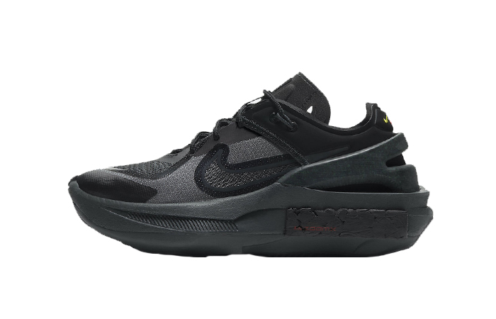 Nike Fontanka Edge Triple Black Womens CU1450-001 01