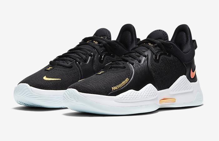 Nike PG 5 Black White CW3143-001 02