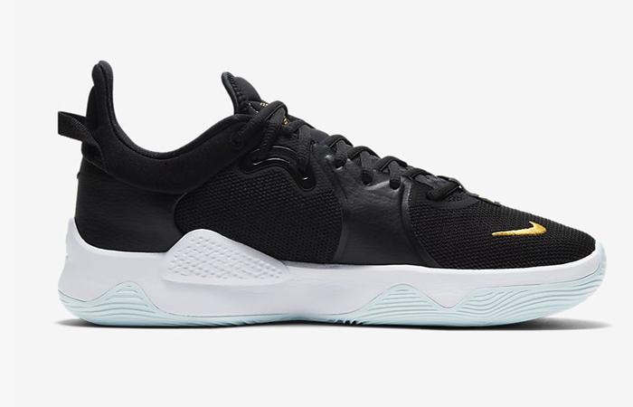 Nike PG 5 Black White CW3143-001 03