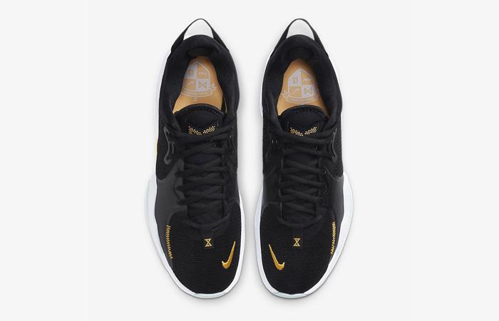 Nike PG 5 Black White CW3143-001 04