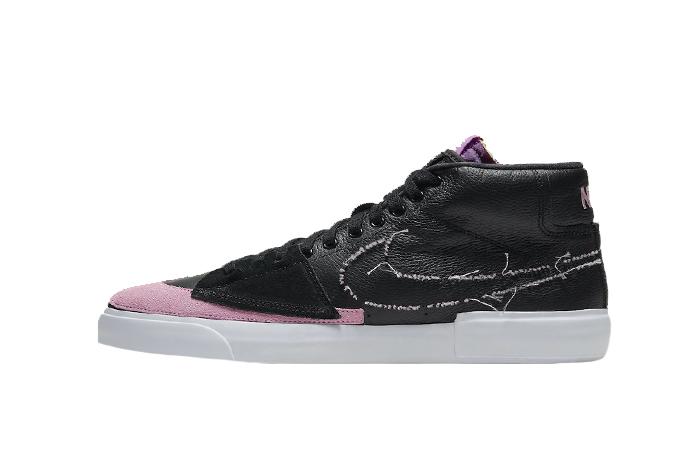 Nike SB Zoom Blazer Mid Edge Black Pink DA2189-002 01