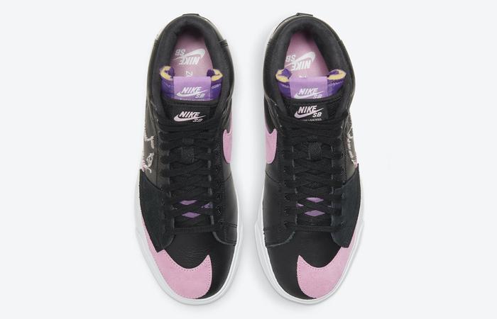 Nike SB Zoom Blazer Mid Edge Black Pink DA2189-002 04