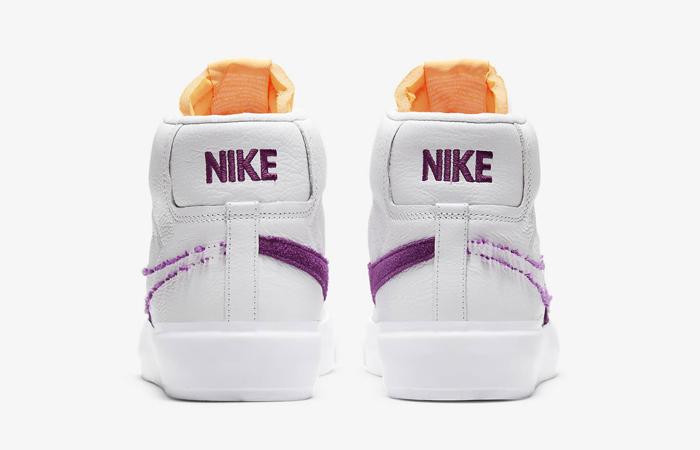 Nike SB Zoom Blazer Mid Edge White Viotech DA2189-100 05