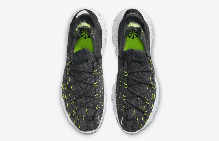Nike Space Hippie 04 Black Volt Green CZ6398-010 04