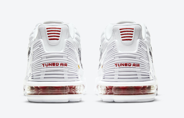 Nike TN Air Max Plus 3 Topography Pack White Red DH4107-100 05