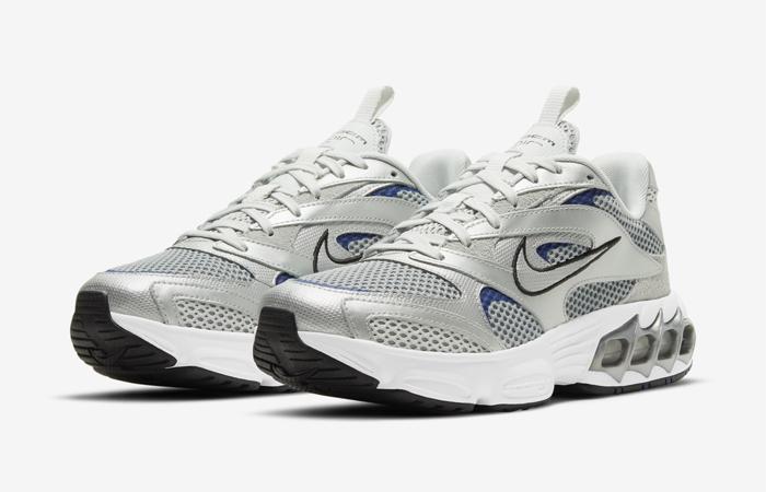Nike Zoom Air Fire Metallic Silver White Womens CW3876-001 02