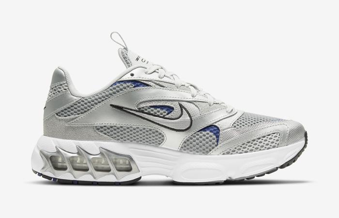 Nike Zoom Air Fire Metallic Silver White Womens CW3876-001 03