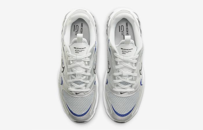 Nike Zoom Air Fire Metallic Silver White Womens CW3876-001 04