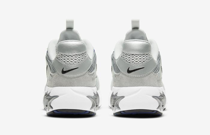 Nike Zoom Air Fire Metallic Silver White Womens CW3876-001 05