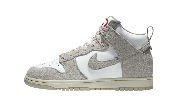 Notre Nike Dunk High Light Orewood Brown White CW3092-100 01