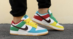 """On Feet Images Of The Upcoming Nike Dunk Low """"Free 99 Pack"""" 01"""