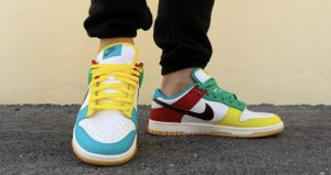 """On Feet Images Of The Upcoming Nike Dunk Low """"Free 99 Pack"""" 02"""