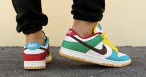 """On Feet Images Of The Upcoming Nike Dunk Low """"Free 99 Pack"""" 03"""
