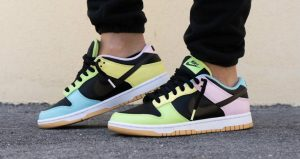 """On Feet Images Of The Upcoming Nike Dunk Low """"Free 99 Pack"""" 04"""