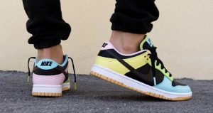 """On Feet Images Of The Upcoming Nike Dunk Low """"Free 99 Pack"""" 07"""