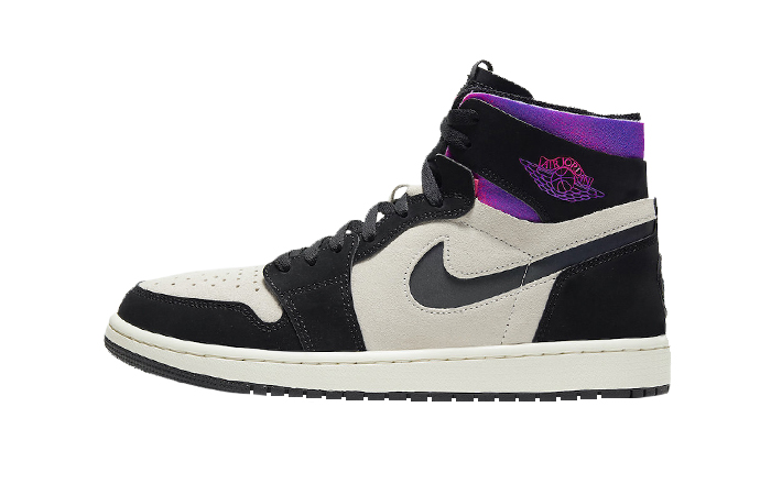 PSG Air Jordan 1 Zoom High Comfort Black Psychic Purple DB3610-105 01