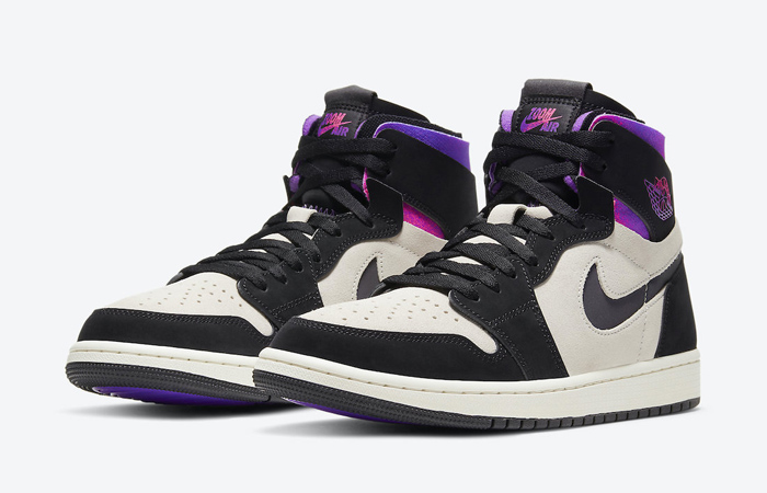 PSG Air Jordan 1 Zoom High Comfort Black Psychic Purple DB3610-105 02