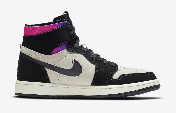 PSG Air Jordan 1 Zoom High Comfort Black Psychic Purple DB3610-105 03