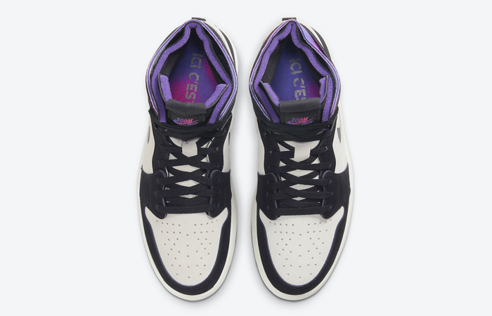 PSG Air Jordan 1 Zoom High Comfort Black Psychic Purple DB3610-105 04