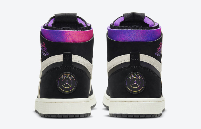 PSG Air Jordan 1 Zoom High Comfort Black Psychic Purple DB3610-105 05