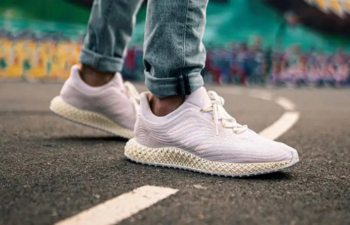 Parley adidas Ultra 4D White FZ0596 on foot 01
